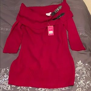 Kohl's Candie's brand sweater dress